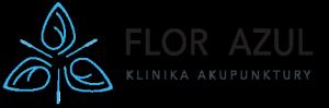 Logo Flor Azul - Klinika Akupunktury - Pyrzyce, Szczecin, Gorzów Wielkopolski