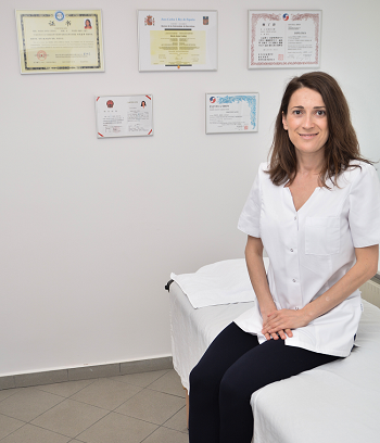 Dr. Maria Czekaj - Klinika Akupunktury Flor Azul - gabinety Pyrzyce (Szczecin) i Gorzów Wielkopolski - certyfikaty
